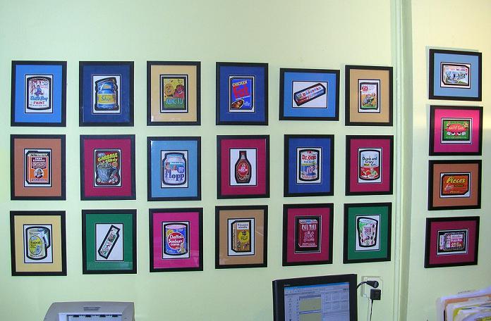 Wall Of Art wacky packages photo scrapbook